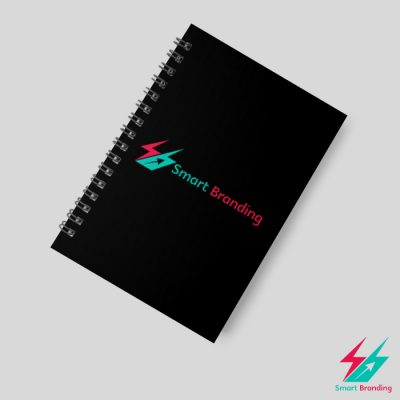 Black-Spiral-Note-Book-Customized-Corporate-Gifts